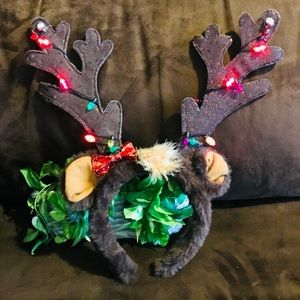 LightUp Reindeer Headband